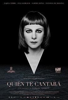 "Movie poster for ""QUIEN TE CANTARA """