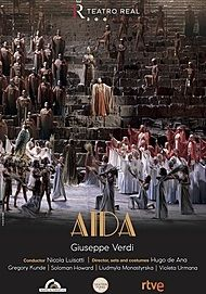 "Movie poster for ""AIDA TEATRO REAL"""