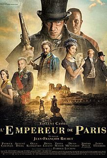 "Movie poster for "" THE EMPEROR OF PARIS"""