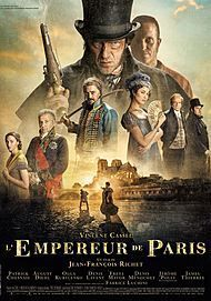 "Movie poster for ""THE EMPEROR OF PARIS"""