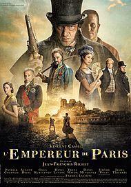 """Affiche du film """"L'EMPEREUR DE PARIS"""""""