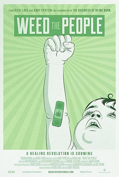 """Movie poster for """"WEED THE PEOPLE"""""""