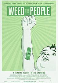 "Movie poster for ""WEED THE PEOPLE"""