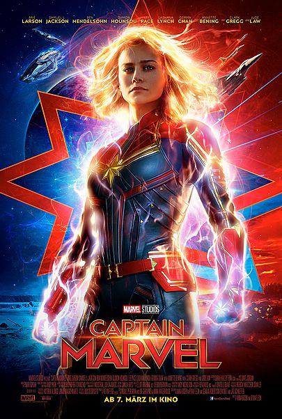 """Movie poster for """"CAPTAIN MARVEL"""""""