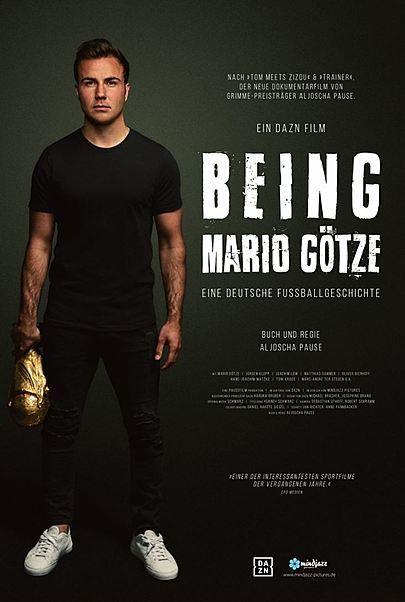 """Filmplakat für """"Being Mario Götze - Eine deutsche Fußballgeschichte"""""""