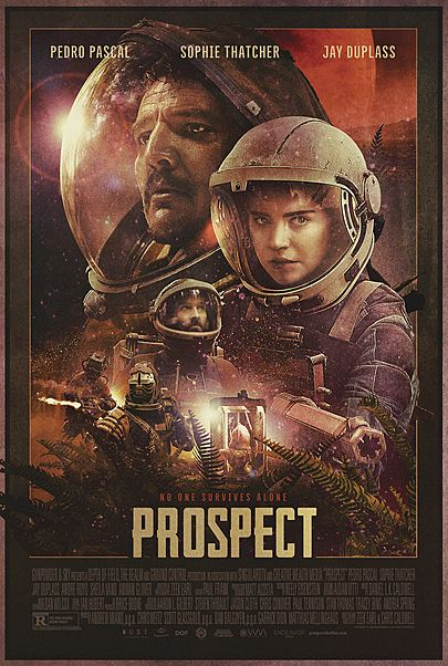 "Movie poster for ""PROSPECT"""