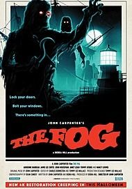 "Movie poster for ""THE FOG (4K RESTORATION RE-ISSUE)"""