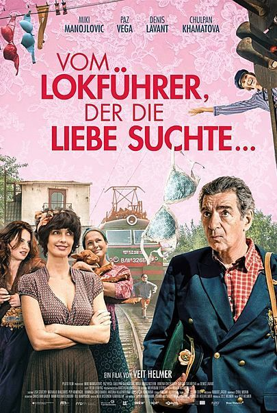 """Filmplakat für """"Vom Lokführer, der die Liebe suchte"""""""