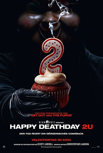 "Filmplakat für ""Happy Deathday 2U"""