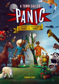 """Movie poster for """"A TOWN CALLED PANIC: THE SPECIALS"""""""