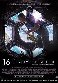 "Movie poster for ""16 LEVERS DE SOLEIL """