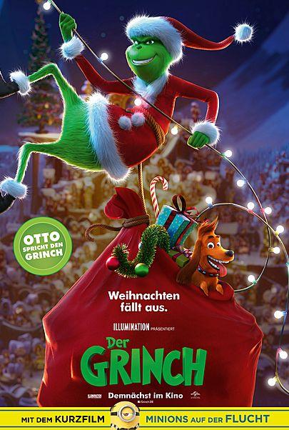 """Filmplakat für """"Der Grinch"""""""
