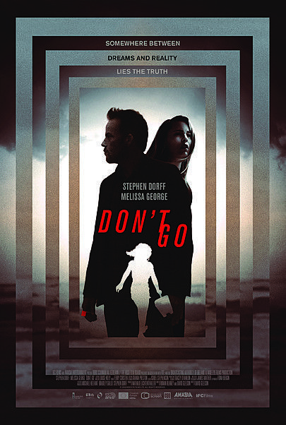 "Movie poster for ""DON'T GO"""