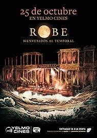 """Movie poster for """"ROBE, BIENVENIDOS AL TEMPORAL"""""""