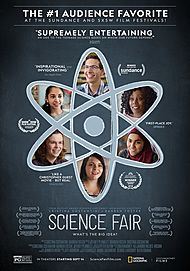 "Movie poster for ""SCIENCE FAIR"""