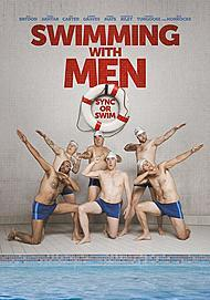 "Movie poster for ""SWIMMING WITH MEN"""