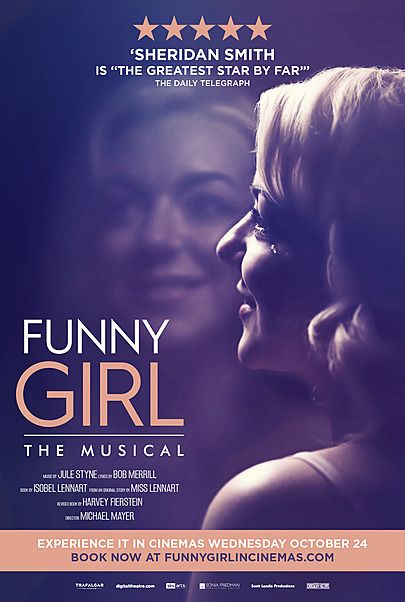 """Movie poster for """"FUNNY GIRL"""""""