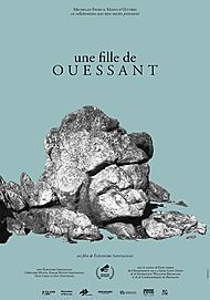 "Movie poster for ""UNE FILLE DE OUESSANT"""