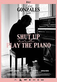 "Movie poster for ""Shut Up and Play the Piano"""