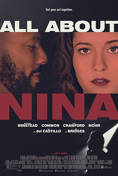"Movie poster for ""ALL ABOUT NINA"""