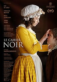"Movie poster for ""LE CAHIER NOIR"""