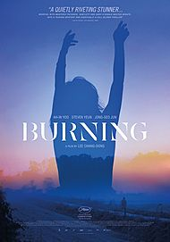 "Movie poster for ""BURNING"""