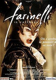 "Movie poster for ""FARINELLI"""