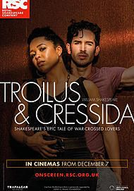 "Movie poster for ""TROILUS AND CRESSIDA - ROYAL SHAKESPEARE COMPANY"""
