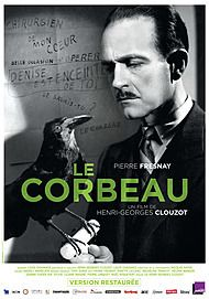 """Movie poster for """"LE CORBEAU"""""""