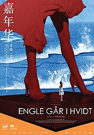 Plakat for ENGLE GÅR I HVIDT