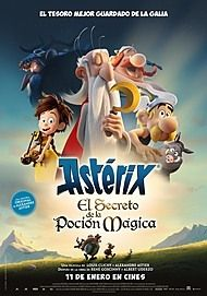 """Movie poster for """"ASTERIX - THE SECRET OF THE MAGIC POTION"""""""