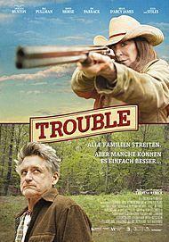 """Filmplakat für """"Trouble"""""""