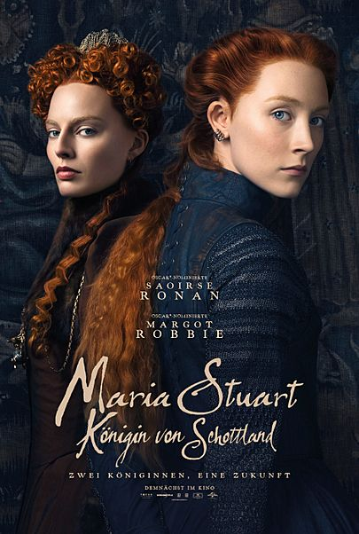 """Movie poster for """"MARY QUEEN OF SCOTS"""""""
