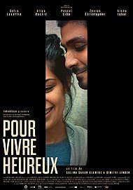 """Affiche du film """"POUR VIVRE HEUREUX"""""""