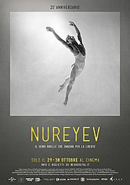 "Movie poster for ""NUREYEV"""