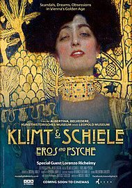 "Movie poster for ""KLIMT & SCHIELE : EROS AND PSYCHE"""