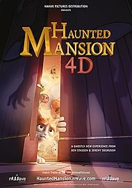 "Movie poster for ""HAUNTED MANSION"""