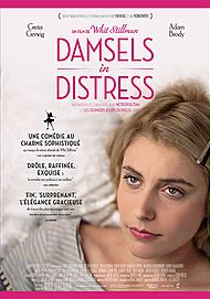 """Movie poster for """"DAMSELS IN DISTRESS"""""""