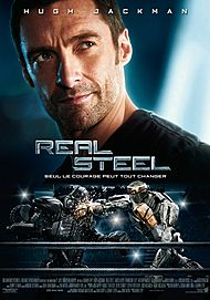 "Movie poster for ""REAL STEEL"""