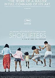 "Movie poster for ""SHOPLIFTERS"""