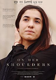 "Movie poster for ""ON HER SHOULDERS"""