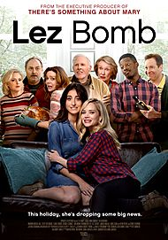 "Movie poster for ""LEZ BOMB"""