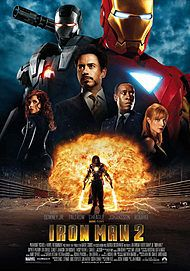 """Movie poster for """"IRON MAN 2"""""""