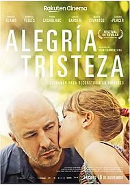 "Movie poster for ""ALEGRIA, TRISTEZA"""