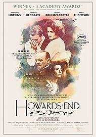 """Movie poster for """"HOWARDS END"""""""
