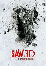 """Movie poster for """"Saw VII 3D"""""""