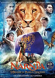 "Movie poster for ""THE CHRONICLES OF NARNIA : THE VOYAGE OF THE DAWN TREADER"""