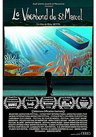 """Movie poster for """"LE VAGABOND DE ST MARCEL"""""""