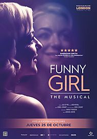 "Movie poster for ""FUNNY GIRL. THE MUSICAL"""