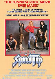 "Movie poster for ""THIS IS SPINAL TAP"""